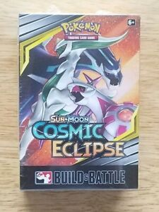 Pokemon Cosmic Eclipse build and battle box factory sealed