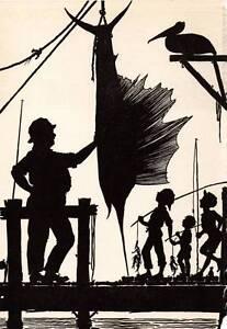 Cap'n Whizz Says 1941 Don Blanding Original Art Deco Vintage Print