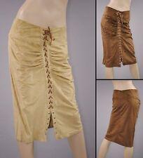 Knielange Damenröcke aus Polyester