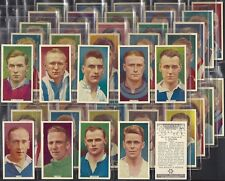 PHILLIPS-FULL SET- SOCCER STARS - FOOTBALL DIXIE DEAN MATTHEWS (50 CARDS) - EXC