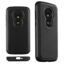 For Motorola Moto E5 Play (2018) Black TPU Shockproof Drop Protective Case Cover