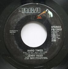 Country 45 Jerry Reed - Hard Times / Down On The Corner On Rca