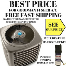 Goodman VSX140361 14 SEER 3 Ton 36,000 BTU Central Air Conditioner Condenser A/C