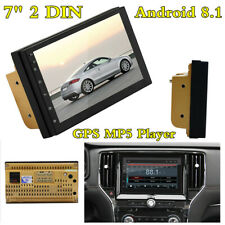 "Android 8.1 7"" 2DIN HD Pantalla Táctil GPS Navi CABEZA UNIDAD REPRODUCTOR MP5 Radio de Coche Wifi"