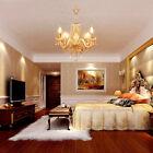 4 bracci Lampada soffitto pendente Luce moderna elegante lampadari di cristallo