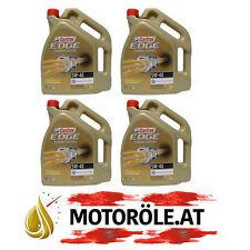 20l 4x 5l Liter Castrol EDGE Turbo Diesel 5W-40 ACEA C3 / API SN/CF