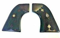 Fits RUGER GRIPS ~ NEW VAQUERO .45 Model - Rosewood Gentleman Tapered