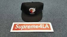 Supreme 17F/W Gonz Ramm 6-Panel Hat Black 1000% Authentic in Hand