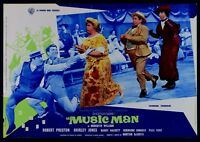 T110 Fotobusta El Música Man Robert Preston Shirley Jones Buddy Hackett