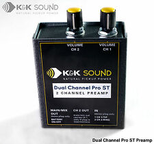 K&K Dual Channel Pro ST Preamp - acoustic guitar preamp - free postage