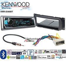 Kenwood Car Stereo Radio Bluetooth CD Dash Install Mount Harness Antenna
