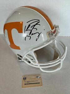 Peyton Manning Signed Tennessee Volunteers Full Size PROLINE HELMET STEINER COA