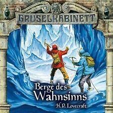 GRUSELKABINETT 44+45 - BERGE DES WAHNSINNS 2 CD NEU