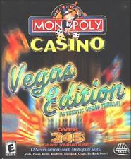 Monopoly Casino: Vegas Edition (PC-CD, 2001) for Windows - NEW CD in SLEEVE