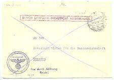 NEDERLAND 1944-8-04  DDP UTRECHT LOKAAL   @9