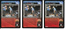 WWE RAW DEAL - 3X Too Many Rules and Too Many Refs *FREE SHIPPING* RARE