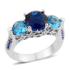 #size6 #bluezirconiarings #czrings #zirconia Blue Zirconia Ring 6 #size6rings