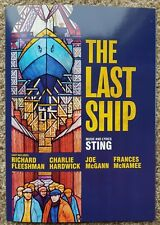 2 Sting - The Last Ship Tour Flyers (The Police) + Highlights Summer 18 Book