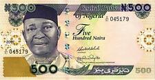 Nigeria 500 naira 2007 pick 30g UNC