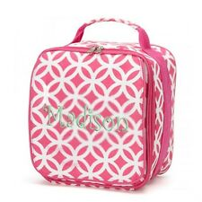 New listing aBaby Sadie Lunch Bag, Pink, Name Madison
