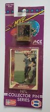 DAN MCGWIRE 1991-92 MVP ACE NFL COLLECTOR PIN & PACIFIC ROOKIE CARD NEW Unopened