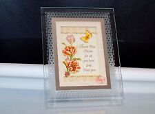 Mothers Day Gift Musical Frame Thank You Mom Plays Wind Beneath My Wings