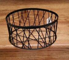 "New  Wire basket fits 8.5"" Dinner plates"
