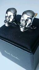 Paul Smith Cufflinks - NEW Moustache Skull /UK Seller/RRP:£99