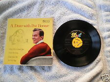 1958 Pat Boone Dot Records Dep-1055 A Date with Extended Play 45 Rpm Vg+ Ps