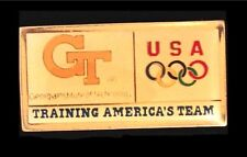 NEW~Olympic Pin Badge~Georgia Tech~USA Team~Atlanta 1996~Training America's Team