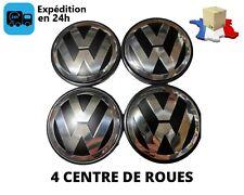 4 Centre De Roue emblème jantes cache moyeu Volkswagen Vw 65mm