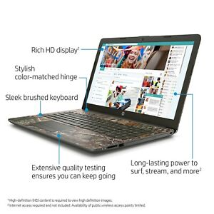 HP Limited Edition Realtree Camo Laptop