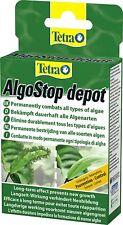 Tetra AlgoStop depot Langzeitbekämpfung Algen Algenwuchs Aquarien 12 Tabletten