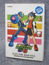 ROCKMAN EXE Megaman Postcard Post Card Illustration Art Book Japan RARE FREESHIP