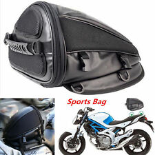 Portable Motorcycle Sports Waterproof Back Seat Carry Bag Luggage Tail Saddlebag