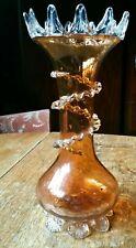 More details for vintage victorian glass vase 10