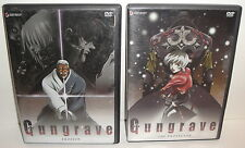 GUNGRAVE DVD LOT of 2 Erosion and The Protector - 2004 Geneon Anime Movie Video