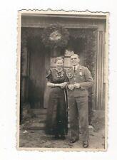 26/275 FOTO SOLDAT MIT ORDEN HOCHZEIT 1938