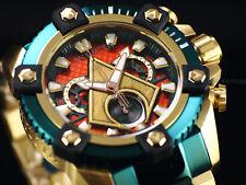 New Invicta DC Comics Aquaman Grand 63mm Arsenal Ltd Ed. Swiss Chrono TTIP Watch