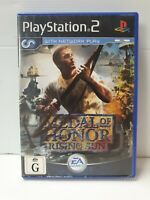 PS2 Medal of Honor Rising Sun Inc Manual