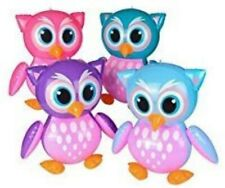 """4 Owl Inflates 24"""" Wholesale Pool, Party Fun"""