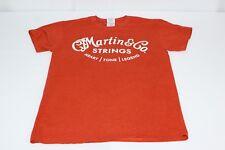 C.F. Martin & CO Guitar Strings Orange S Small Tshirt