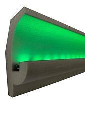 20 Mètres LED Ornemental Mur Moulure en Stuc pour Eclairage Indirect OL-25