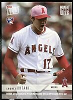 2018 Topps NOW Moment of the Week 6 Shohei Ohtani #MOW-6 Sets Club Record RC