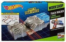 Hot Wheels Work Shop Track Builder 2 Speed Power Booster