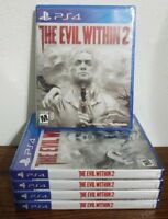The Evil Within 2 (PlayStation 4) PS4 - Brand New and Factory Sealed