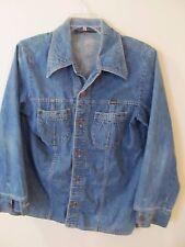 Wrangler Rapid Transit Vintage Blue Denim Jacket Usa Size Large L