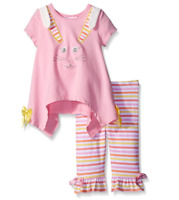 Bonnie Jean Newborn Baby Girls Spring Holiday Easter Bunny Capris 0 3 6 9 Months