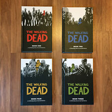 The Walking Dead 1-4 Hardcover Graphic Novel Book Lot - Image Comics