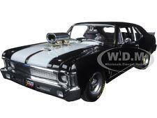 1970 CHEVROLET NOVA 1320 KINGS BLOWN DRAG BLACK LTD ED. TO 1074PC 1/18 GMP 18808